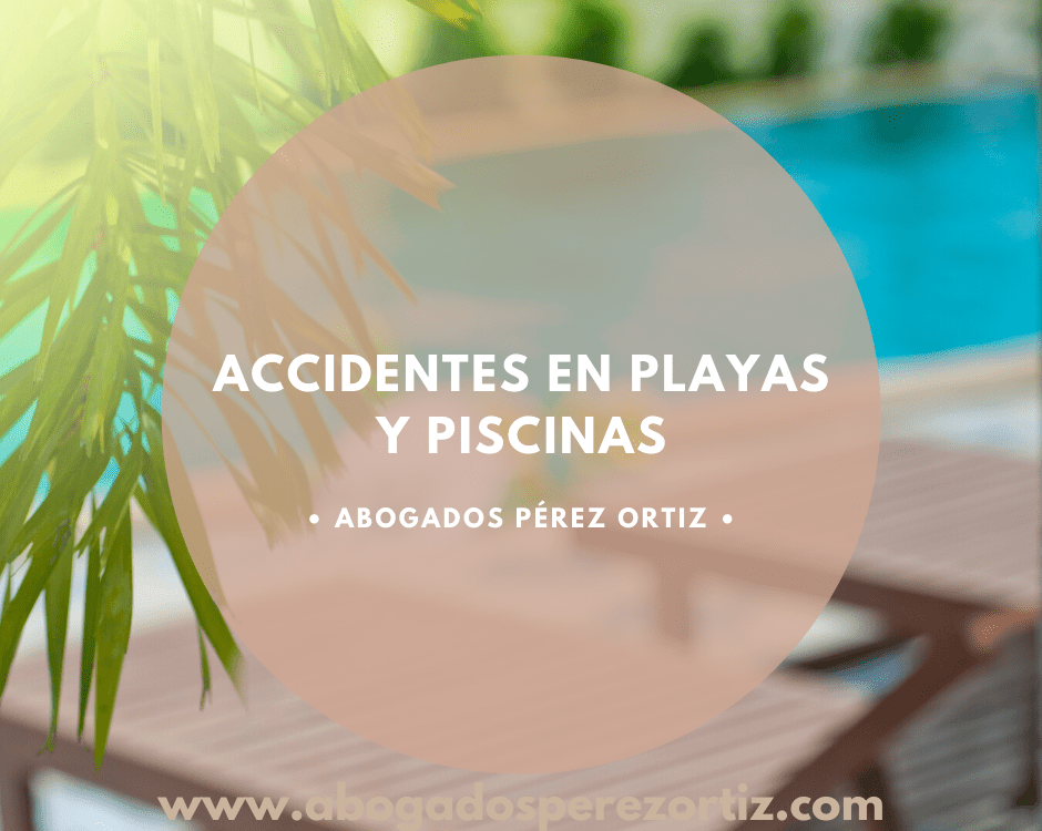 accidentes en playas y piscinas