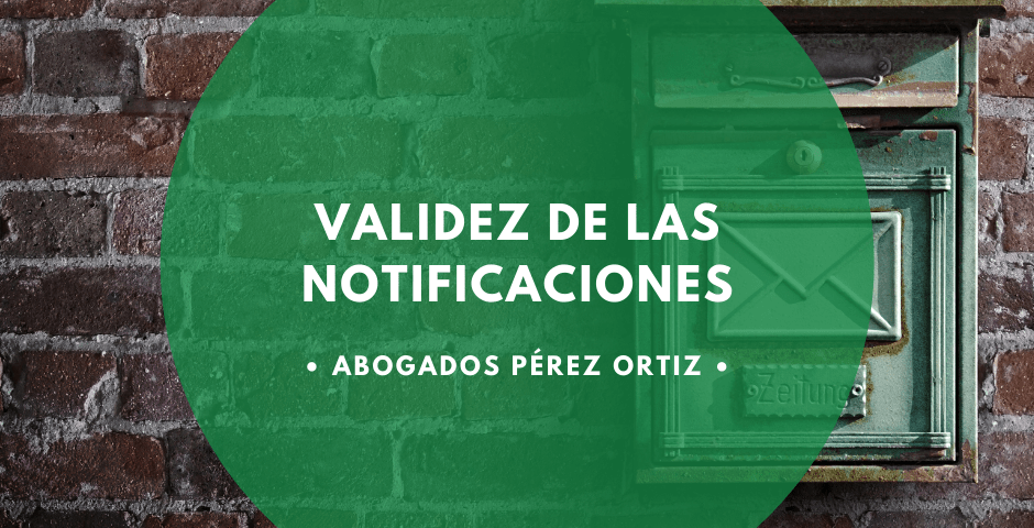 notificaciones fehacientes