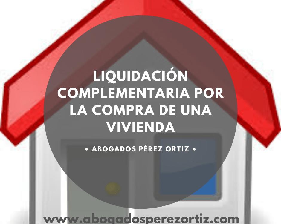 liquidación complementaria