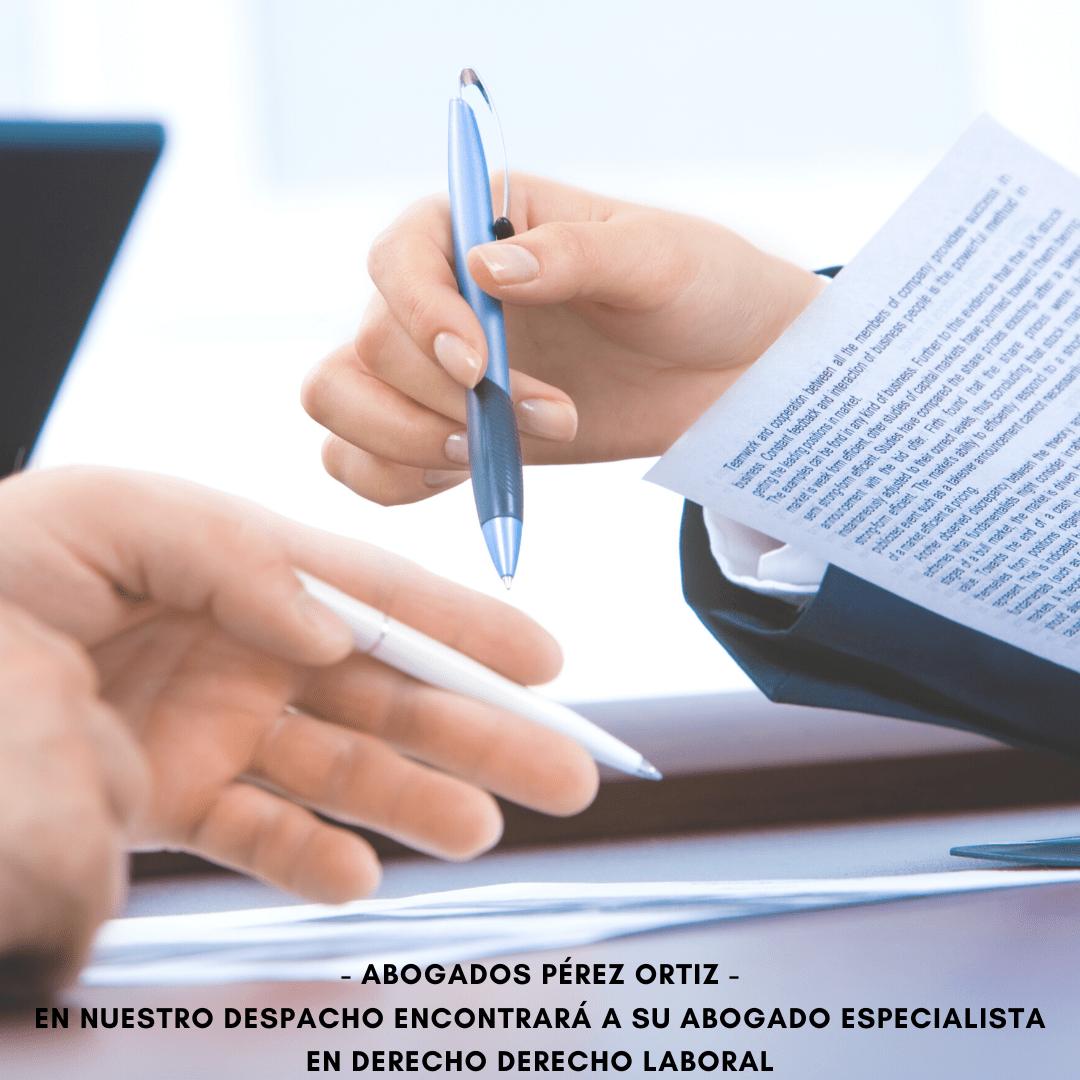 Asesoramiento, redacción y formalización de contratos laborales