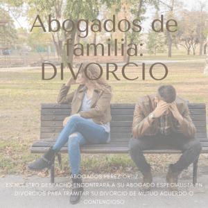 abogado de divorcios en San Javier